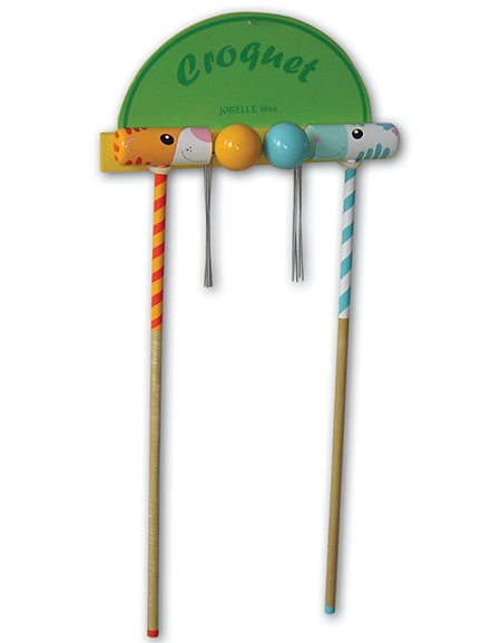 Jeu de croquet d'initiation