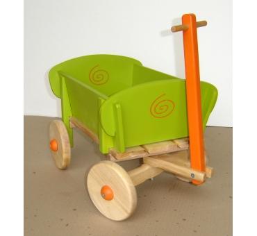 Petit chariot bois